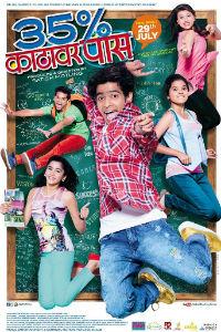 35% Kathawar Pass Marathi Film Poster