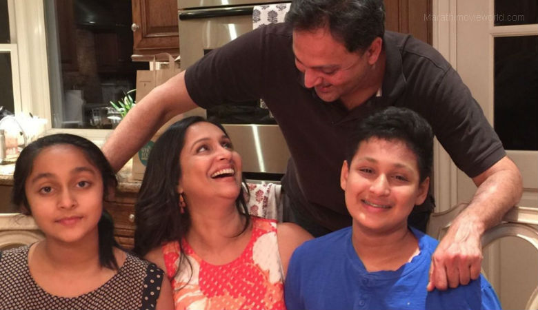 Ashwini Bhave celebrates her birthday with her family members in USA