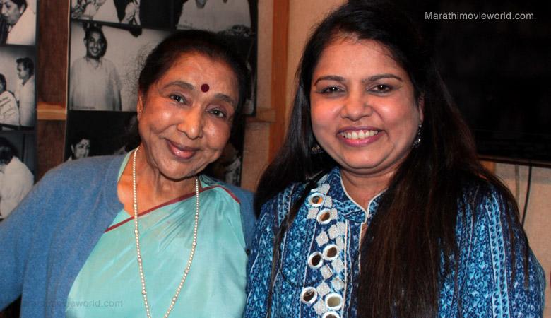 Aasha Bhosale and Sadhana Sargam