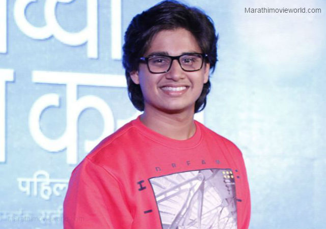 Laxmikant Berde's son Abhinay Berde all set to make his ... Laxmikant Berde Abhinay Berde