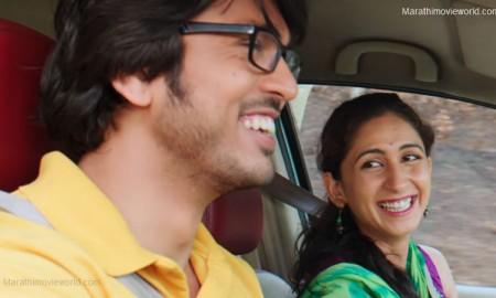 Lalit Prabhakar and Mrinmayee Godbole, Chi Va Chi Sau Ka Marathi Movie