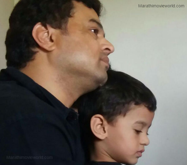 Subodh Bhave with his son Malhar Bhave