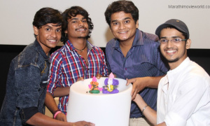 Actors From Marathi Movie Yari Dosti Prepare Ganapati
