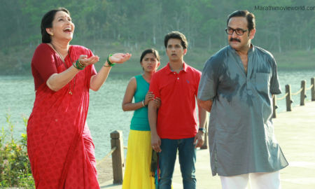 Ashwini Bhave In Marathi movie 'Dhyanimani'
