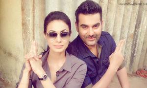 Manisha Kelkar and Arbaaz Khan
