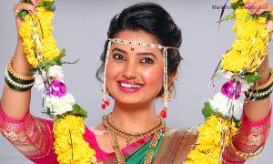 Actress Prajaka Mali