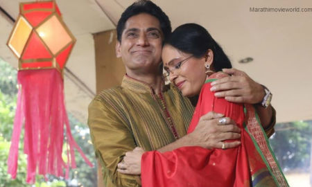 Avinash Narkar And Aishwarya Narkar Picture