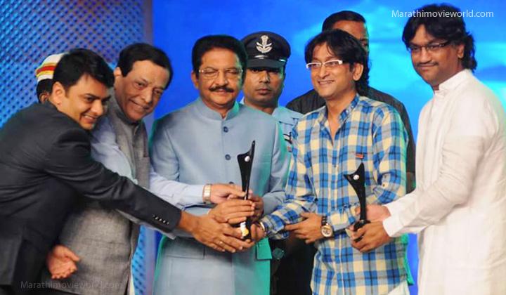 Ajay Gogawale Atul Gogawale In Sahyadri Award