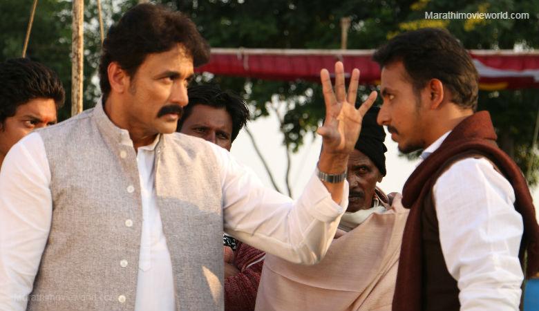 Ajinkya Deo in Marathi  film Nagpur Adhiveshan