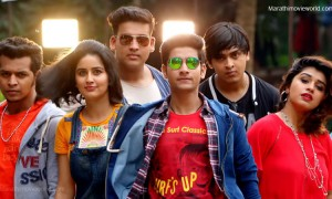 Akash Thosar Sanskruti Balgude Marathi Film FU Friendship Unlimited Film Still