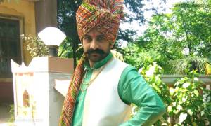 Akshar Kothari as Sarja in Marathi serial 'Chahul 2'