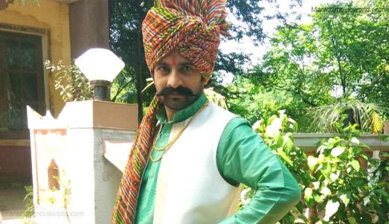 Akshar Kothari as Sarja in Marathi serial 'Chahul 2'