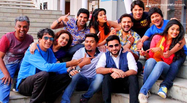 Aniket Vishwasrao, Pooja Sawant, Amruta Khanvilkar , Siddharth Chandekar , Hemant Dhome , Amruta Khanvilkar, Pictures