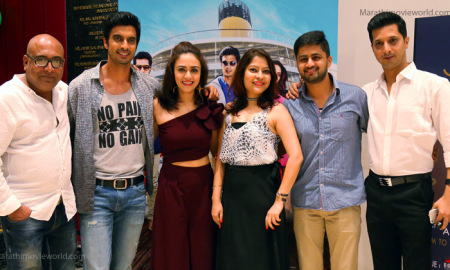 Gashmeer Mahajani, Amruta Khanvilkar, Neha Mahajan, Actress, One Way Ticket Movie