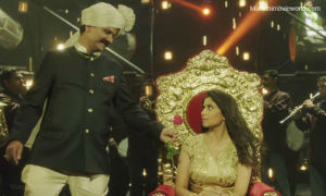 Girish Kulkarni and Sai Tamhankar in Bring It On Baby Song