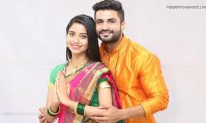 Bhagyashree Limaye and Chinmay Udgirkar in Marathi serial 'Ghadge And Soon'