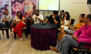 Marathi Film 'Condition Apply' Cast and Crew Member, Subodh Bhave, Deepti Devi, Girish Mohite