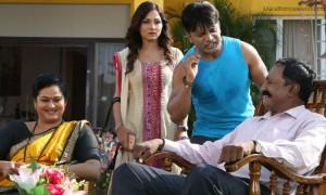 Devendra Chougule and Rupali Krishnrao in Marathi movie 'Premay Namah'