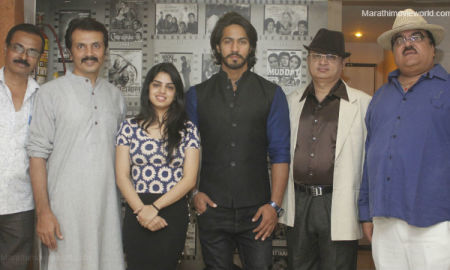 Director Milind Gawali with actor Thakur Anoop Singh