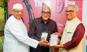 Dr Mohan Agashe, Third Eye Film Festival, Astu Movie