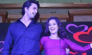 Gashmeer Mahajani and Spruha Joshi,  Marathi film 'Mala Kahich Problem Nahi'