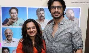Gashmeer Mahajani and Spruha Joshi