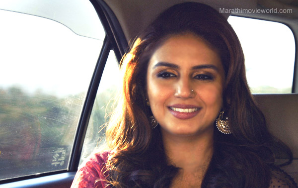 Actress Huma Qureshi, Highway Marathi