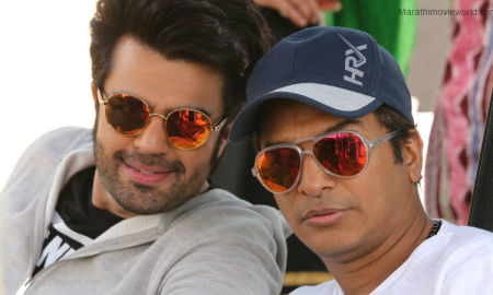 Manish Paul And Vikram Phadnis