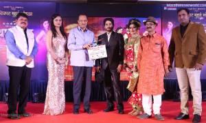 Marathi film 'Thapadya' music Launch