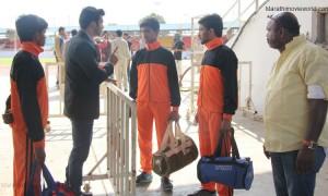 Milind Shinde Director Film Shoot At Balewadi