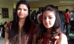 Deepali Amikar with Actress Monalisa Bagal