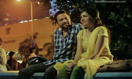 Mukta Barve Ankush Chaudhari Double Seat Movie