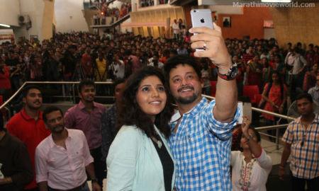 Mumbai pune mumbai Marathi Film, Mukta Barve