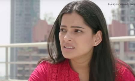Priya Bapat in Marathi movie 'Gachchi' still