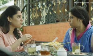 Priya Bapat and Sai Tamhankar