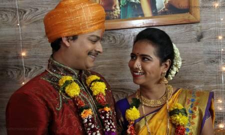Saksham Kulkarni, Sameeha Sule in serial 'Love Lagna Locha'