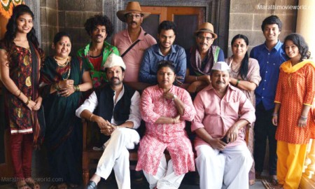 Sanjay Khapre,  Arun Nalawade & others, Marathi movie 'Kaay Jhala Kalena'