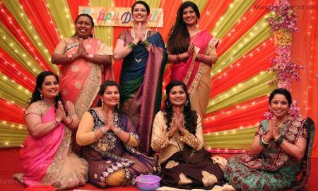Shravani Pillai, Niyati Rajwade, Namrata Awate, Pournima Ahire, Surabhi Bhave, Mousami Tondwalkar and Girija Oak