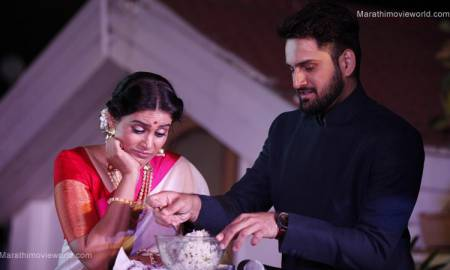 Sonali Kulkarni, Siddharth Chandekar in Marathi Movie 'Gulabjaam'