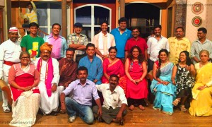 'Ti Fulrani', Marathi Natak Team