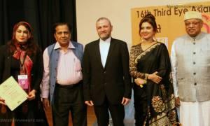 Varsha Usgaonkar, Kiran Shantaram, Third eye asian film festival