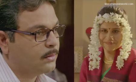 Sagar Deshmukh and Sai Tamhankar YZ Movie Still